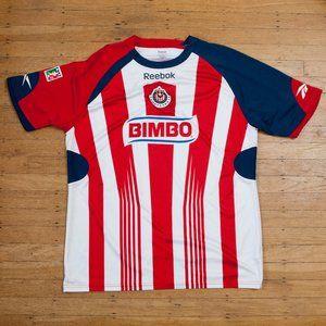 Reebok Guadalajara Bimbo Futbol Jersey
